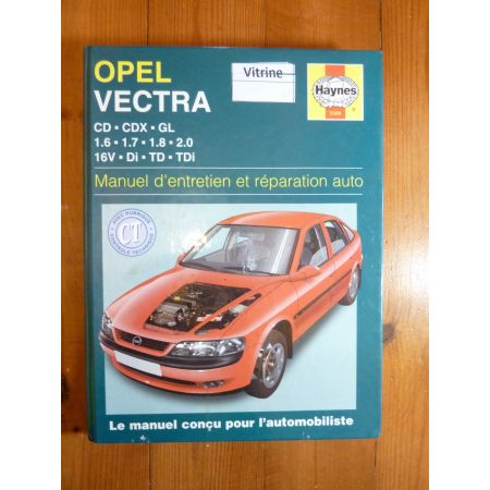 Vectra B Revue Technique Haynes Opel
