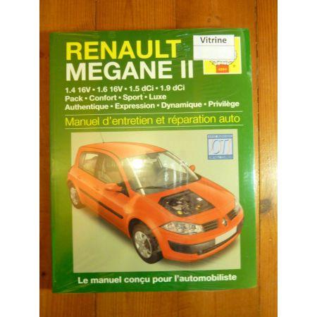Megane II Revue Technique Haynes Renault