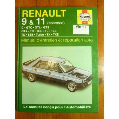 R9 R11 81-88 Revue Technique Haynes Renault