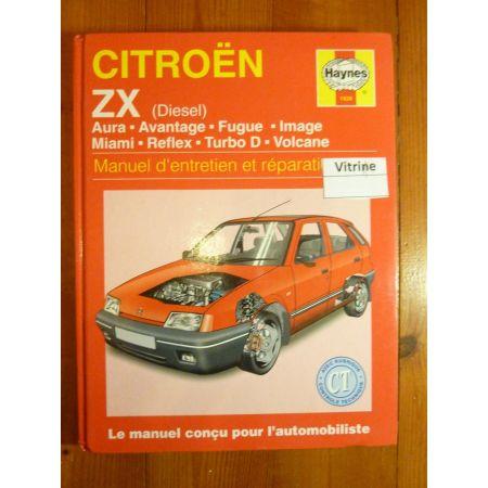 ZX Die Revue Technique Haynes Citroen