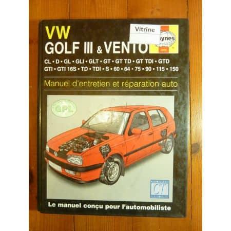 Golf III Vento Revue Technique Haynes Volkswagen