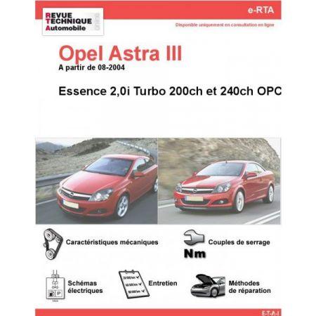 Astra III 2.0i 04- Revue e-RTA Numerique Opel