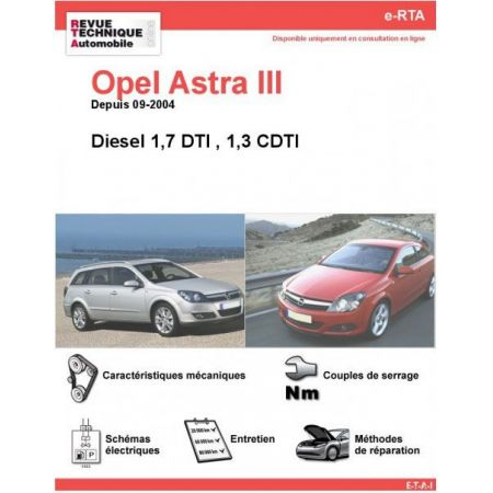 Astra III Diesel 04- Revue e-RTA Numerique Opel