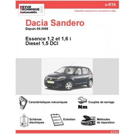 Sandero 08- Revue e-RTA Numerique Dacia