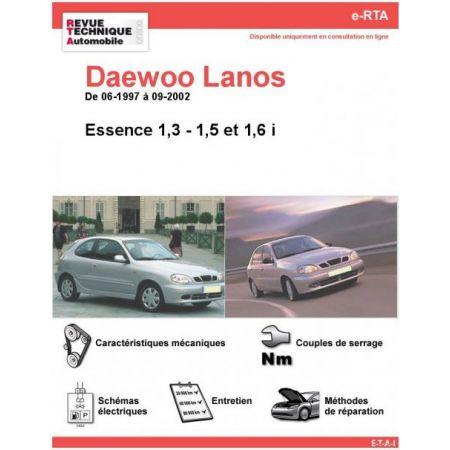Lanos Ess 97-02 Revue e-RTA Numerique Daewoo
