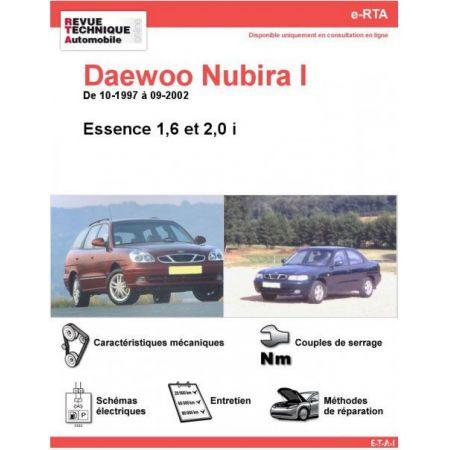 Nubira Ess 97-02 Revue e-RTA Numerique Daewoo