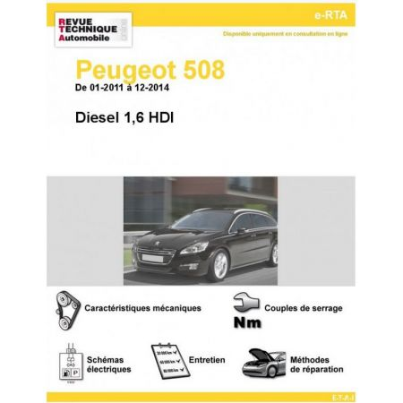 508 Diesel 11-14 Revue e-RTA Numerique Peugeot
