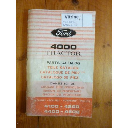 4000 Catalogue Ford