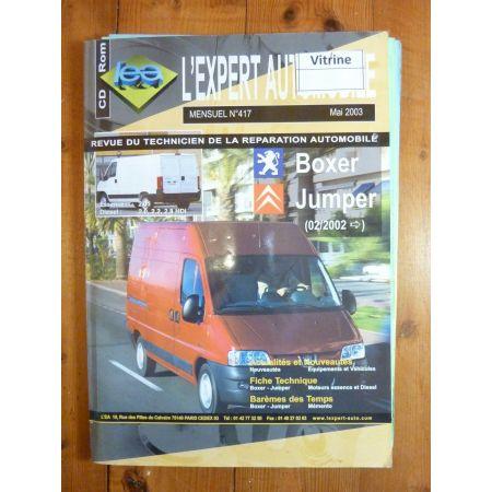 Boxer Jumper 02- Revue Technique Citroen Peugeot