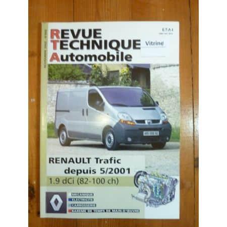 Trafic DCi 01- Revue Technique Renault