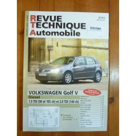 Golf V Die Revue Technique Volkswagen