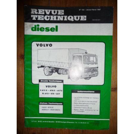 F615 a 617 Revue Technique PL Volvo