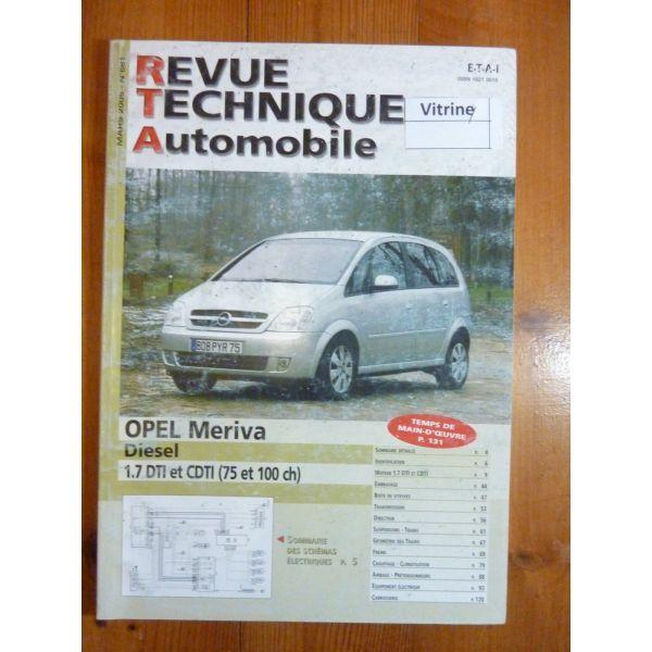 MERIVA Revue Technique Opel
