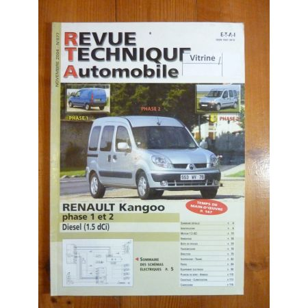 Kangoo Ph 1 2 Diesel Revue Technique Renault