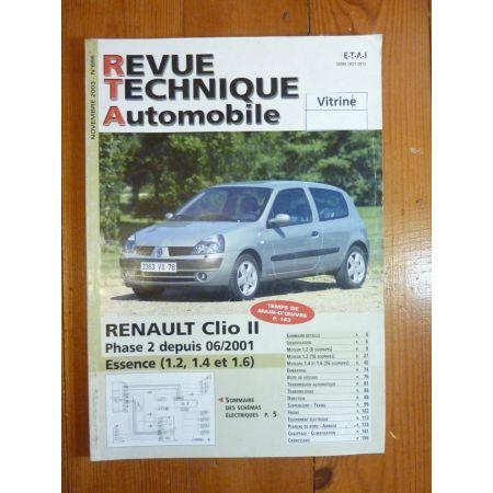 Clio II 01- Revue Technique Renault