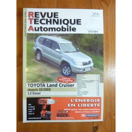 LAND CRUISER 03- Revue Technique Toyota