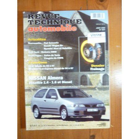 Almera Revue Technique Nissan