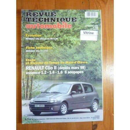 Clio II 98- Revue Technique Renault