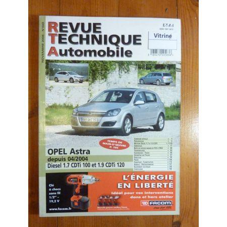 Astra 04- Revue Technique Opel