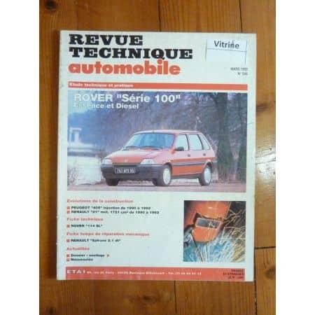 Serie 100 Revue Technique Rover