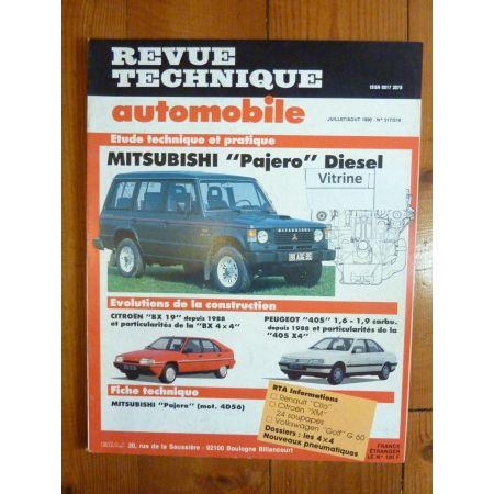 PAJERO Revue Technique Mitsubishi