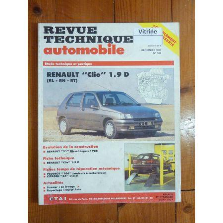 Clio 1.9 D Revue Technique Renault