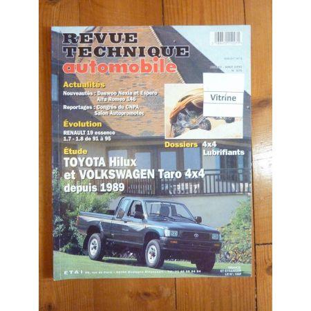 Hilux-Taro Revue Technique Volkswagen Vw