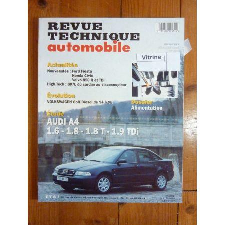 A4 Revue Technique Audi
