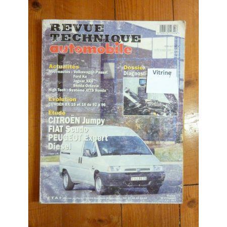 JUMPY SCUDO EXPERT Revue Technique Citroen Fiat Peugeot