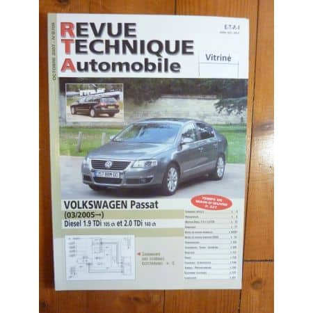 Passat 05- Revue Technique Volkswagen