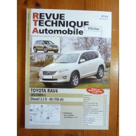 RAV 4 09- Revue Technique Toyota