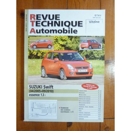 Swift Revue Technique Suzuki