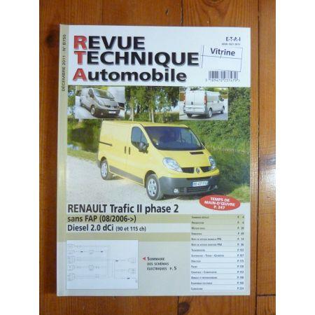 Trafic II 06- Revue Technique Renault