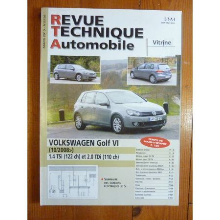 Golf VI 08- Revue Technique Volkswagen