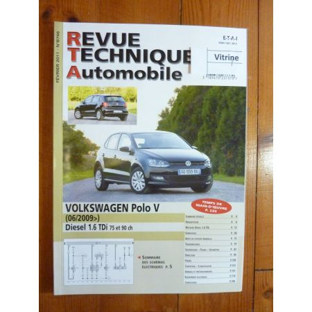 Polo V 09- Revue Technique Volkswagen
