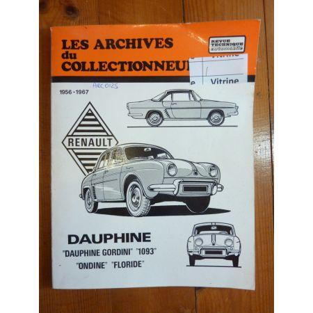 Dauphine gord Floride Revue Technique Les Archives Du Collectionneur Renault