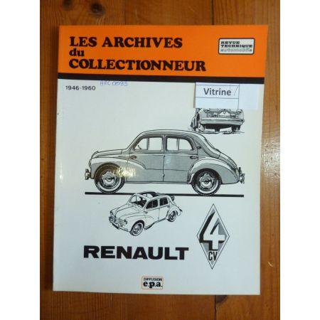 4CV Revue Technique Les Archives Du Collectionneur Renault