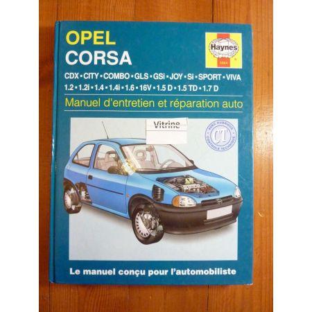 Corsa Revue Technique Haynes Opel