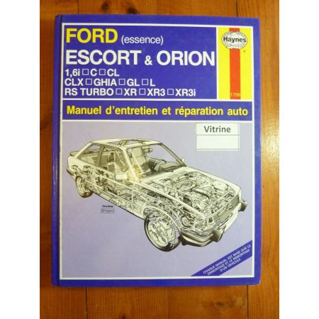 Escort Orion Ess Revue Technique Haynes Ford