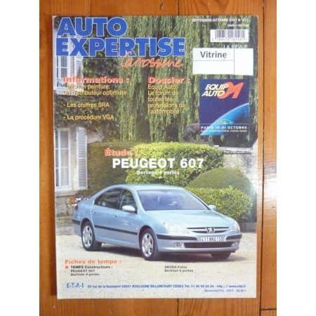 607 Revue Auto Expertise Peugeot