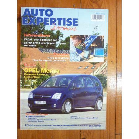 Meriva Revue Auto Expertise Opel