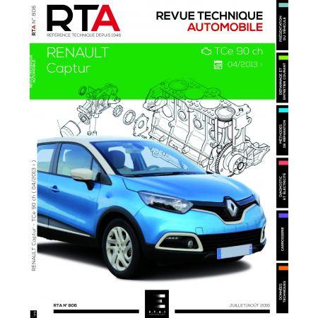 Captur TCe 90cv 04/13- Revue Technique Renault