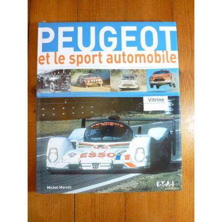Peugeot et le Sport Automobile Livre