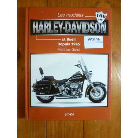 Harley et Buell depuis 1945 Livre Moto Guide