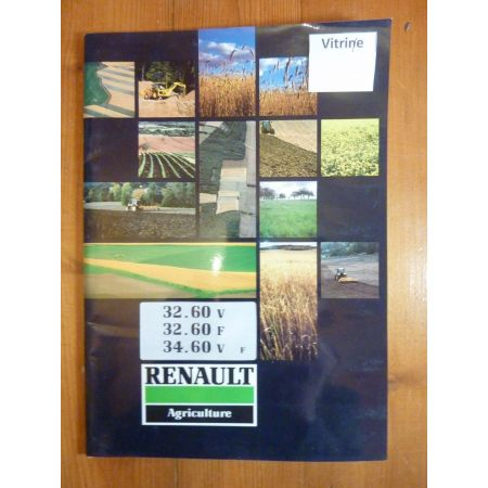 32.60-34.60 - Manuel Utilisateur Renault