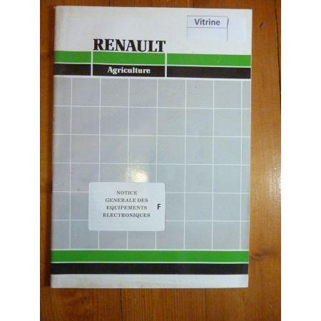Equip. electroniques - Manuel Utilisateur Renault