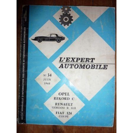 REKORD C Revue Technique Opel