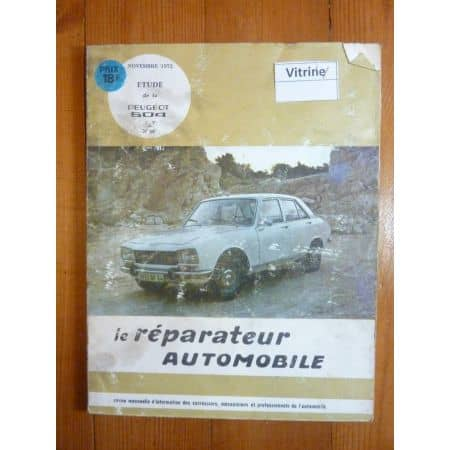 504 Revue Reparateur Automobile