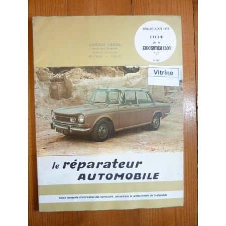 1300,1301 SIMCA Revue Reparateur Automobile