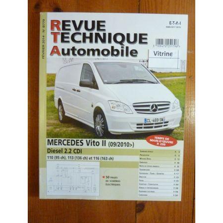 Vito II 10- Revue Technique Mercedes